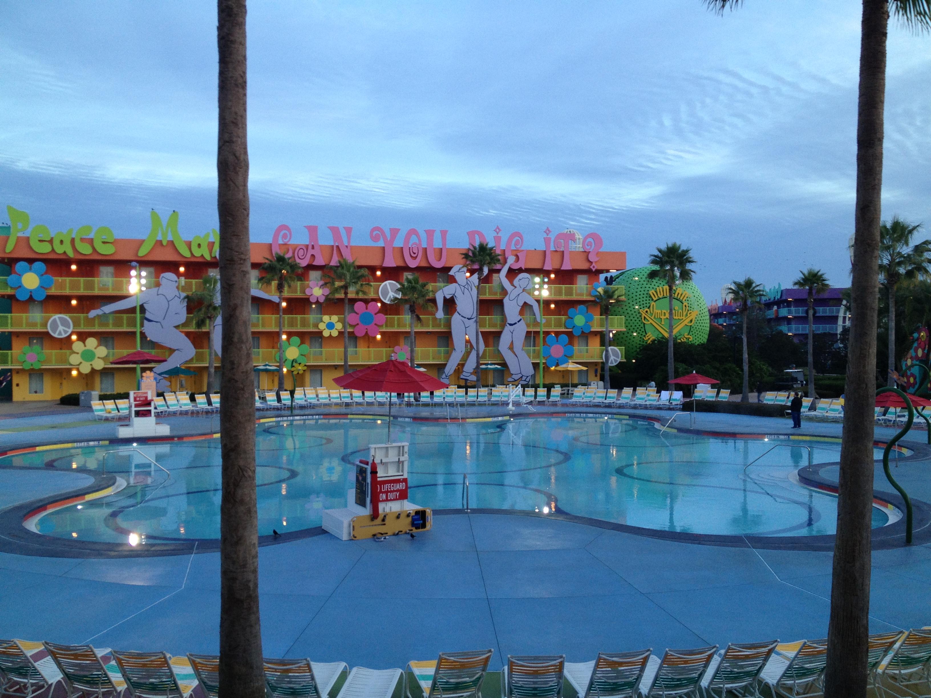 Ponto Orlando Hotel na Disney Pop Century NEW 002