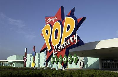 Ponto Orlando Hotel na Disney Pop Century 1