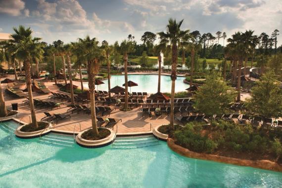Ponto Orlando Hotel em Orlando Hilton Bonnet Creek NEW 002