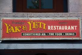Ponto Orlando Restaurante na Disney Yak & Yeti 1