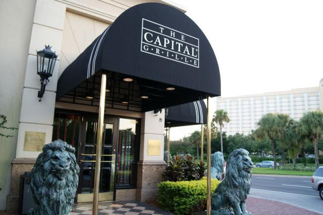 Ponto Orlando Restaurantes em Orlando Capital Grille 3