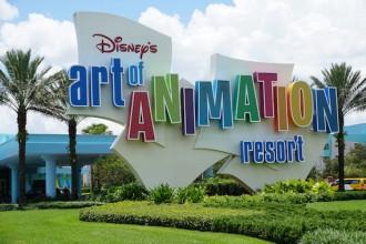 Ponto Orlando Hotel na Disney Art Of Animation NEW 001