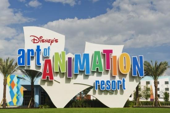 Ponto Orlando Hotel em Orlando Disney's Art of Animation Dicas Disney 1