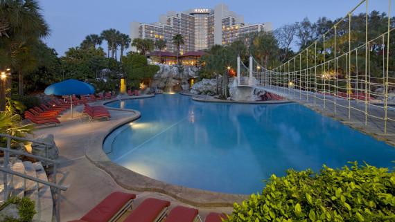 Ponto Orlando Hotel em Orlando Hyatt Grand Cypress NEW 001