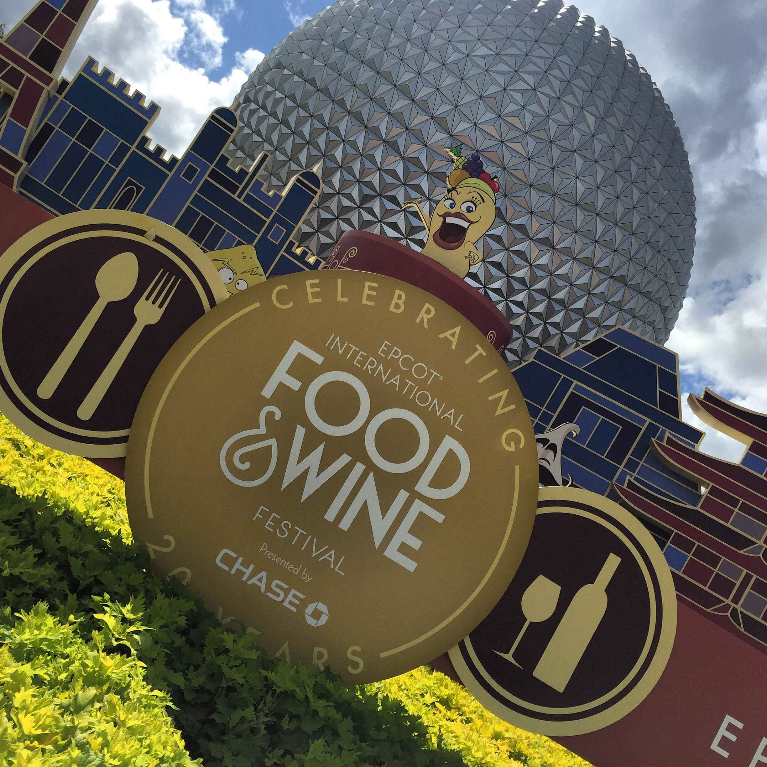 Ponto Orlando Parques da Disney Food and Wine 001