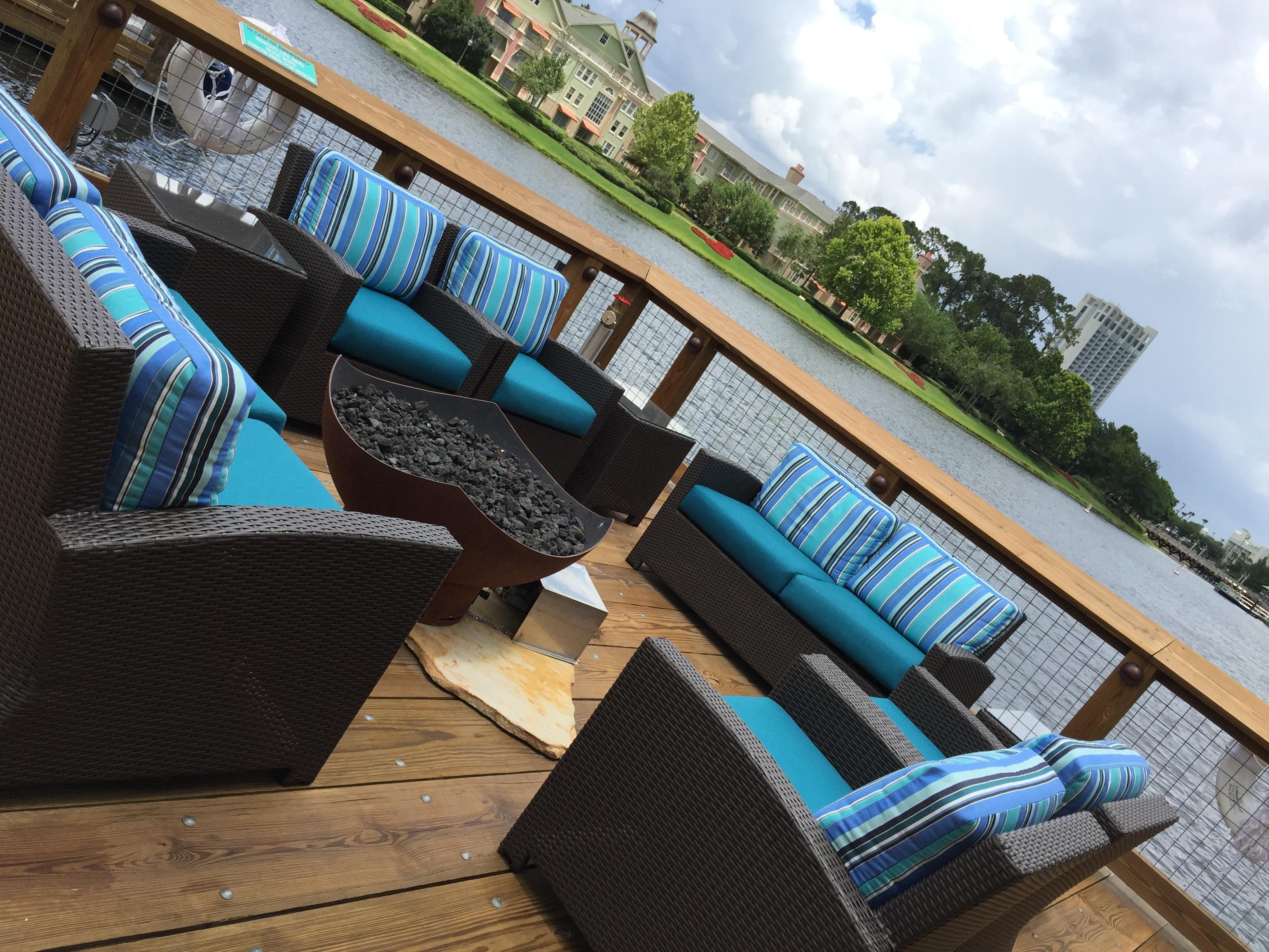 Ponto Orlando Restaurantes na Disney Boathouse 5