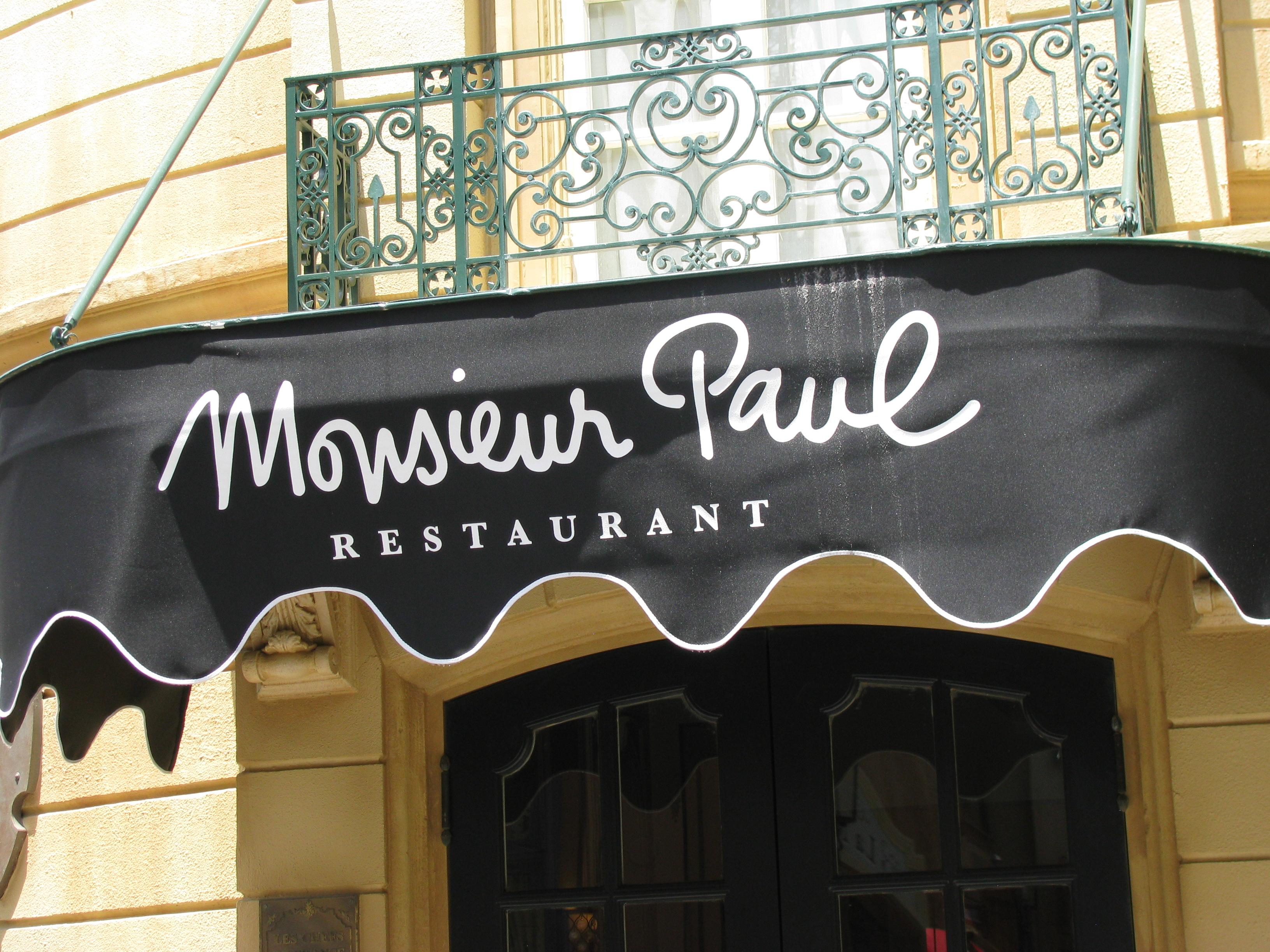 Ponto Orlando Restaurante na Disney Dicas da Disney Monsieur Paul Epcot 2