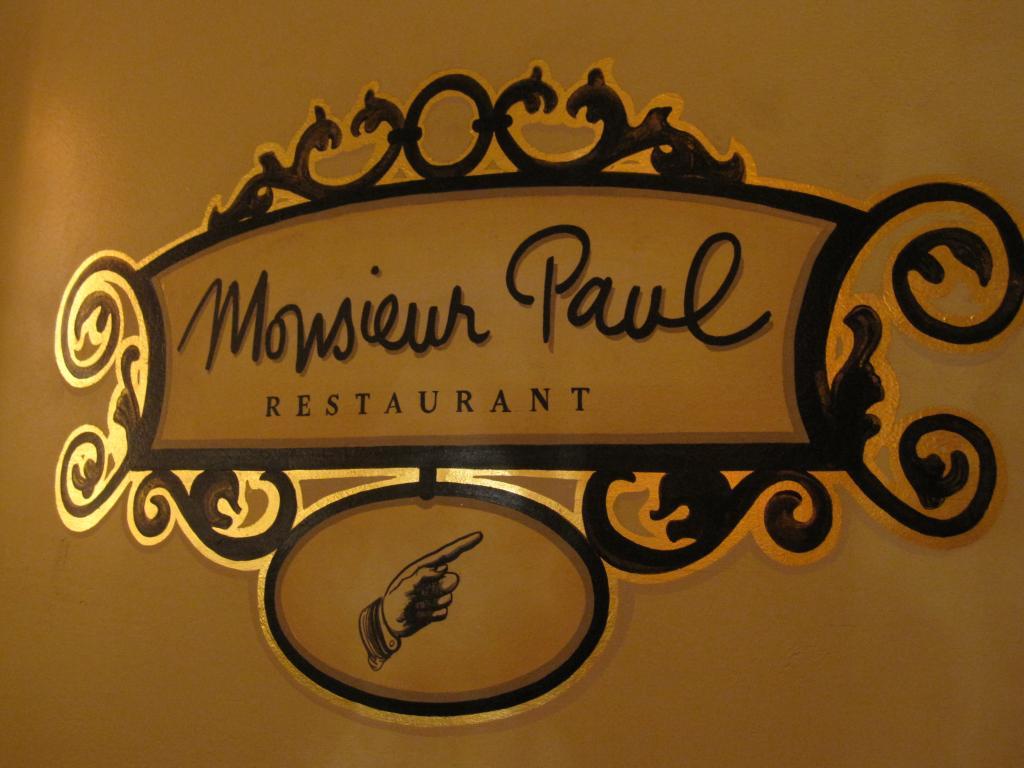 Ponto Orlando Restaurante na Disney Dicas da Disney Monsieur Paul Epcot 1