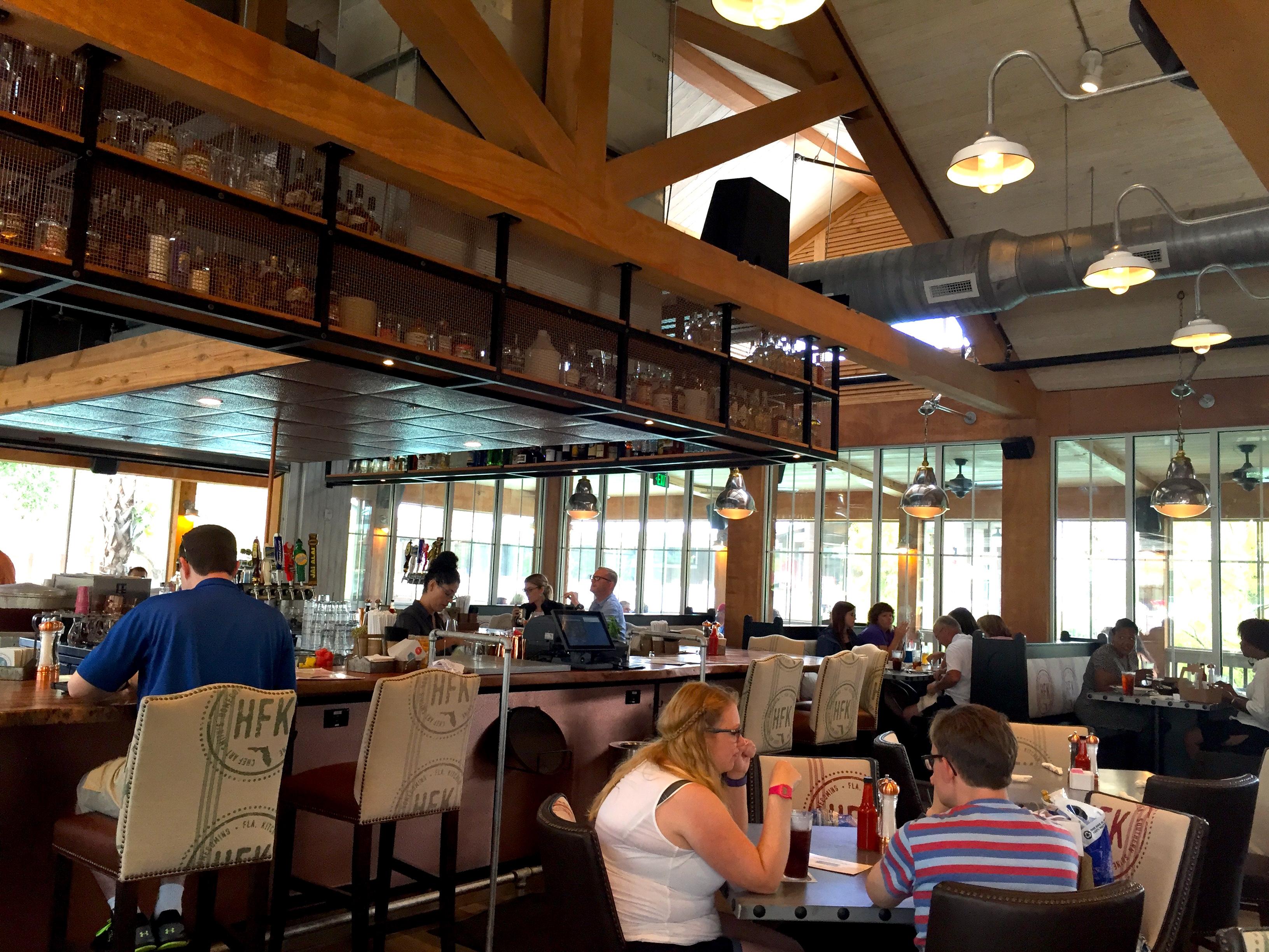 Ponto Orlando Restaurantes na Disney Homecoming 003