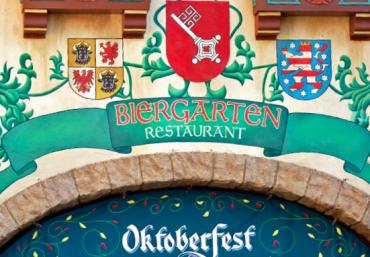 Ponto Orlando Restaurantes na Disney Biergarten 001