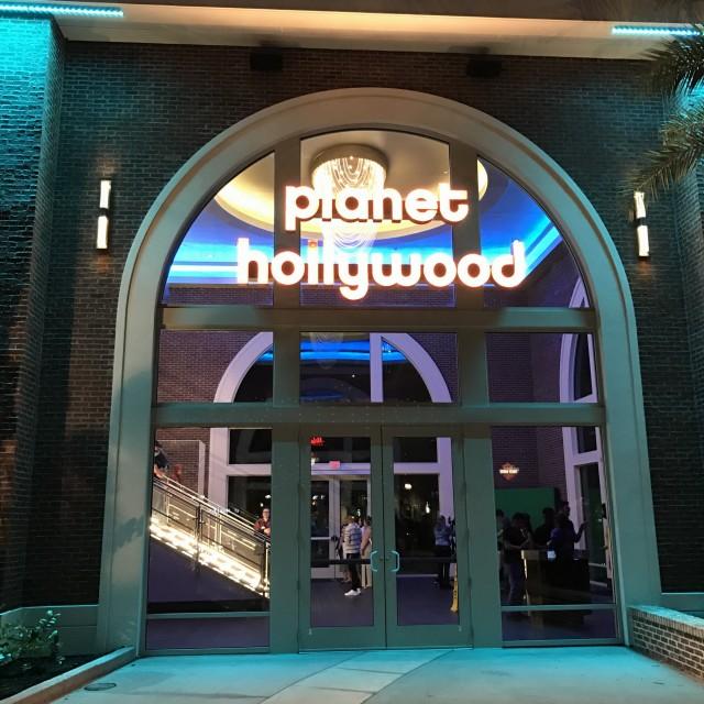 Ponto Orlando Restaurantes na Disney Planet Hollywood 002