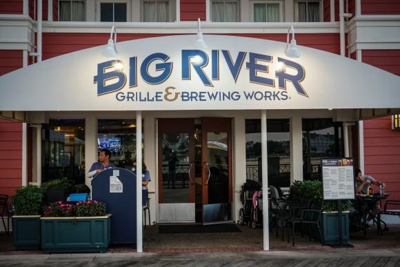 Ponto Orlando Restaurantes na Disney Big River NEW 001