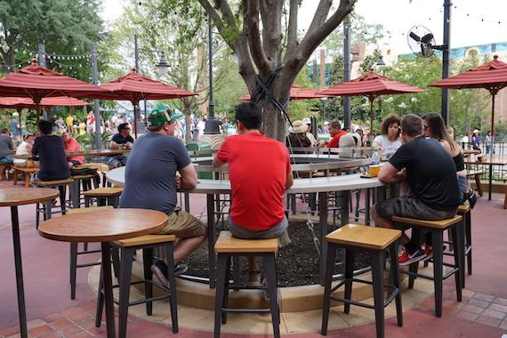 Ponto Orlando Restaurantes na Disney Baseline Tap House 001