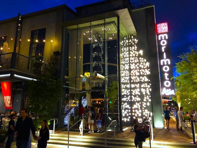 Ponto Orlando Restaurantes na Disney Morimoto Asia NEW 001