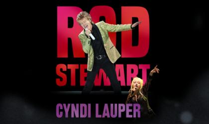 Ponto Orlando Shows em Orlando Rod Stewart Ciyndi Lauper NEW 001