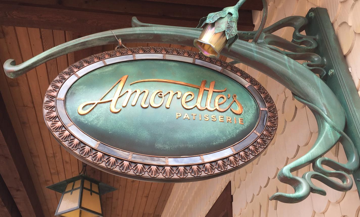 Ponto Orlando Restaurantes na Disney Amorette's 001