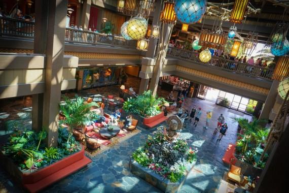 Ponto Orlando Hotel na Disney Polynesian 002
