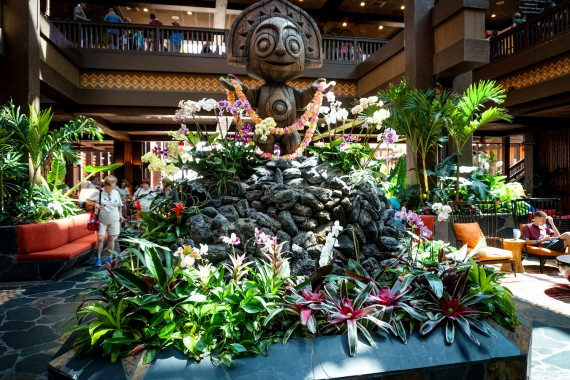 Ponto Orlando Hotel na Disney Polynesian 005