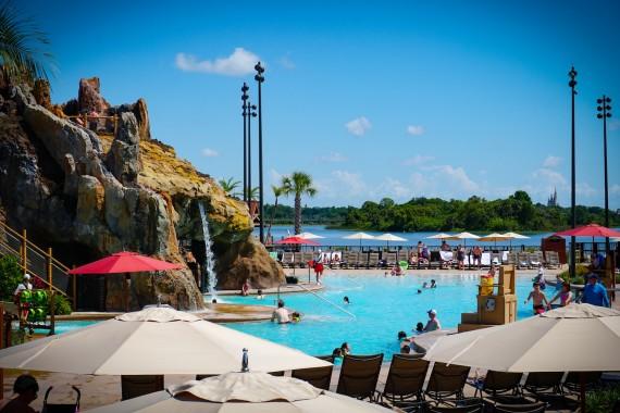 Ponto Orlando Hotel na Disney Polynesian 004