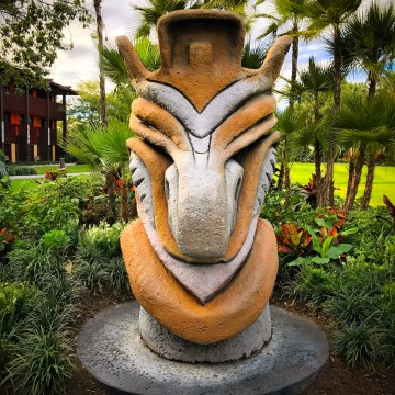 Ponto Orlando Hotel na Disney Polynesian 001