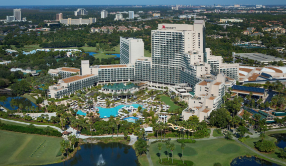 Ponto Orlando Hotel em Orlando World Center Marriott NEW 005