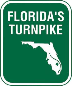 Florida's Turnpike - Viajando entre Orlando e Miami