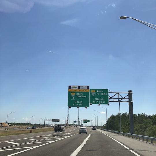 Ponto Orlando Viagem para Orlando Turnpike NEW 004