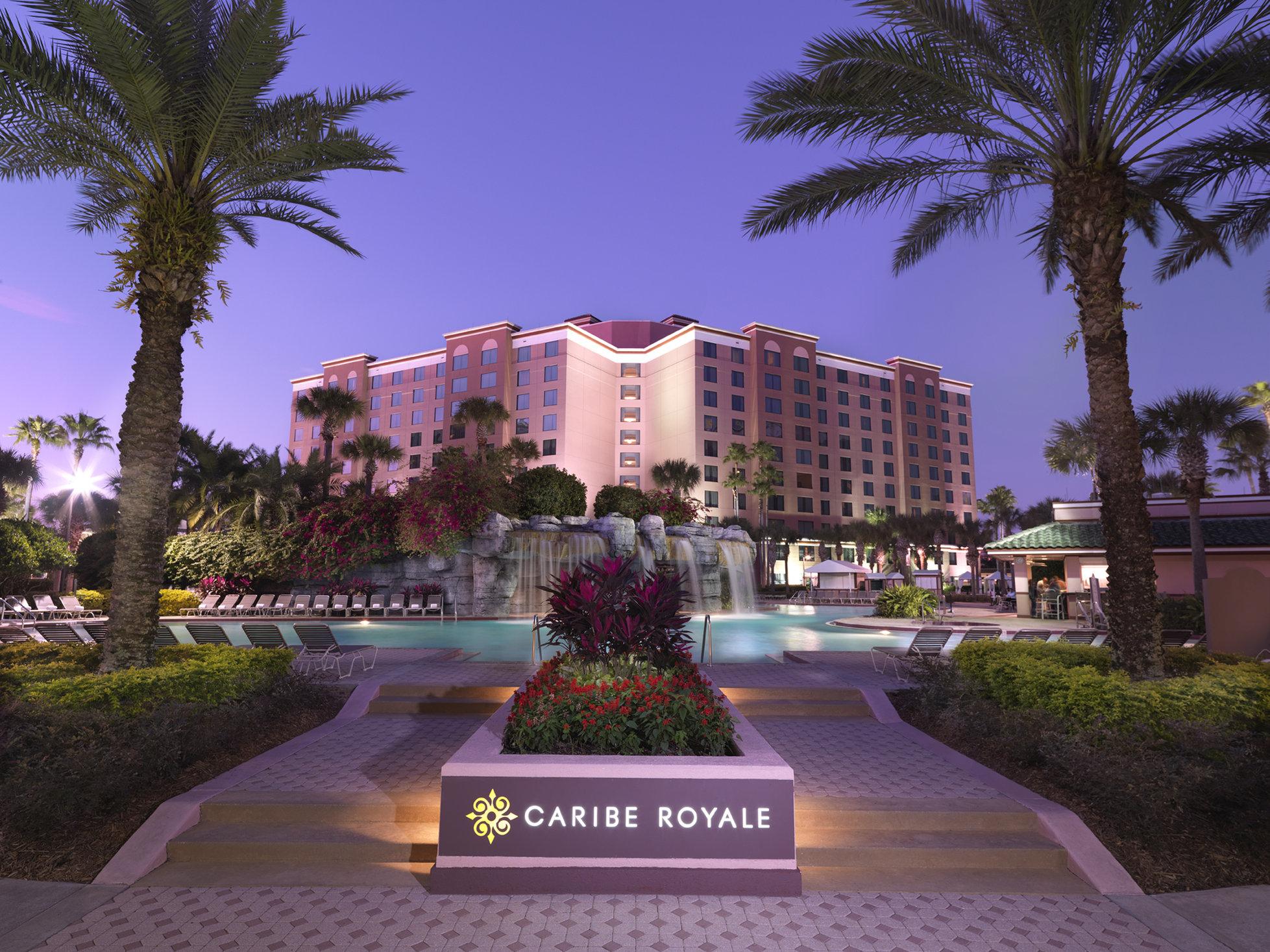 Ponto Orlando Hotel em Orlando Caribe Royale 001