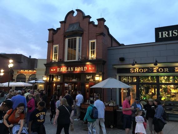 Ponto Orlando Restaurantes na Disney Raglan Road NEW 002