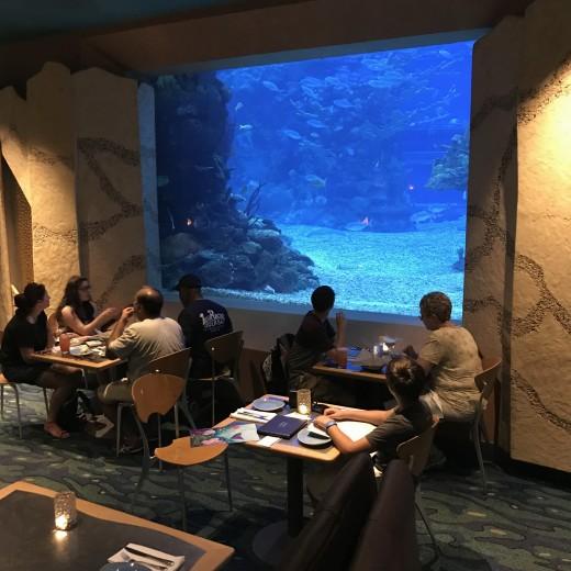 Ponto Orlando Restaurantes na Disney Coral Reef 003