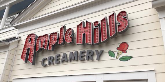 Ponto Orlando Restaurantes na Disney Ample Hills 0001