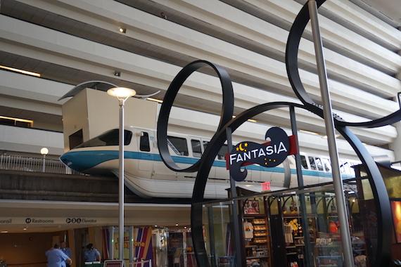 Ponto Orlando Hotel na Disney Contemporary Resort 004