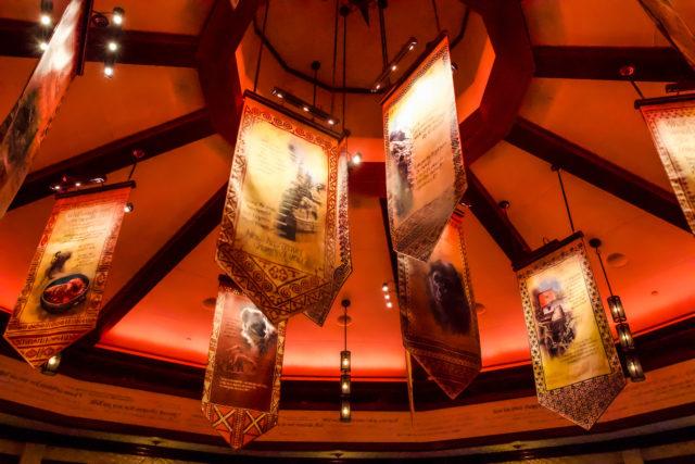 Ponto Orlando Restaurantes na Disney Nomad Lounge 007